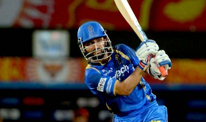 Ajinkya Rahane is the only Indian batsman to score a half-century in RR vs SRH matches played at Sawai Mansingh Stadium