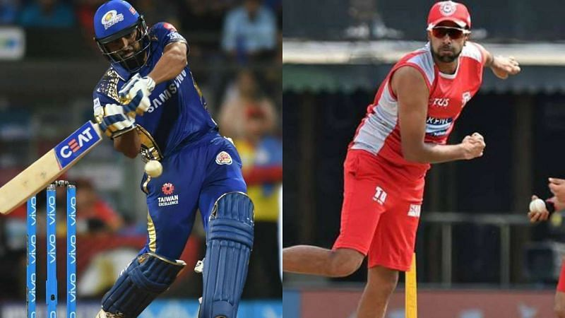 Rohit Sharma vs Ravichandran Ashwin