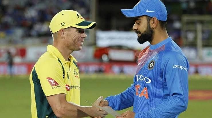 Virat kholi & David Warner / Courtacy: IPL/Twitter Mark Waugh
