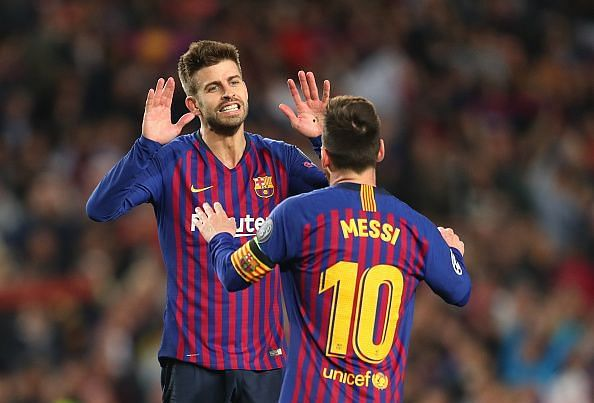 Barcelona are on course for a treble this season