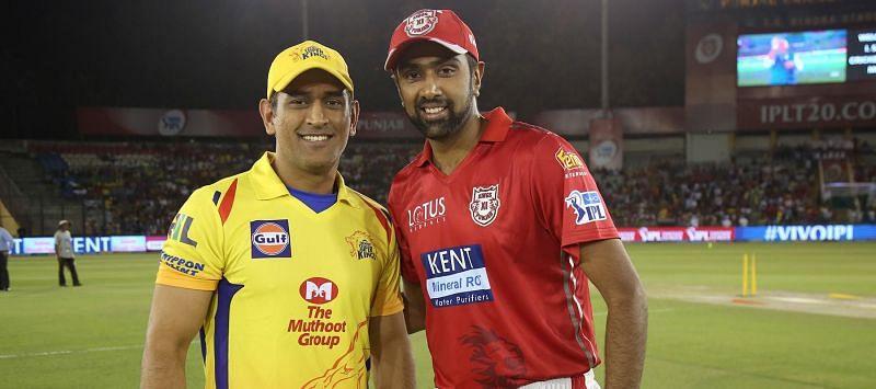 पंजाब और चेन्नई के कप्तान