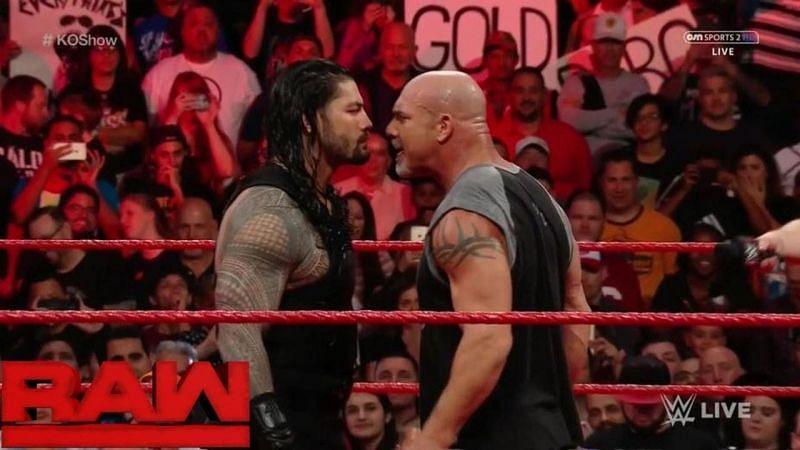 Roman Reigns vs Da Man