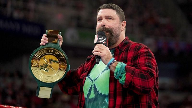 Mick Foley introduced the 24/7 championship