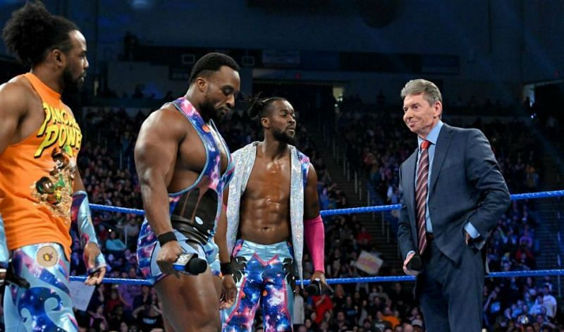 Vince with The New Day
