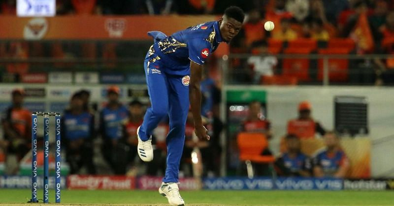 Alzarri Joseph managed six wickets before injury ended his season,
