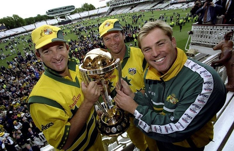 Former Australian captain and the 1999 ICC Cricket World Cup winner, Steve Waugh