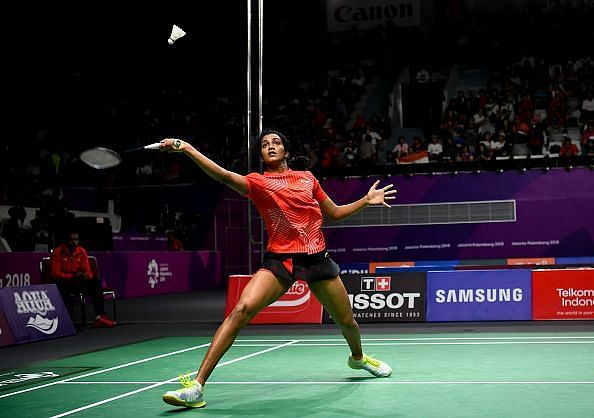 PV Sindhu won her match easily in the Women