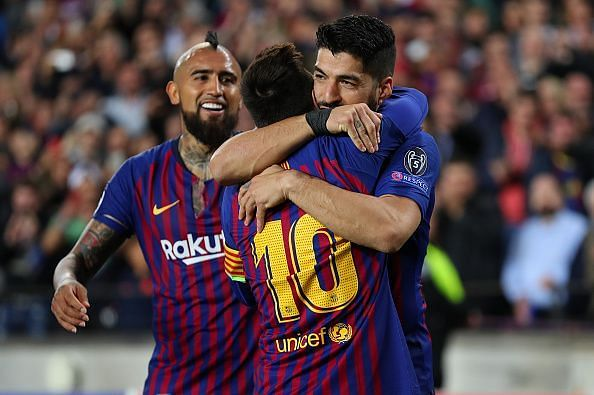 Barca are on course to claim a historic treble this term