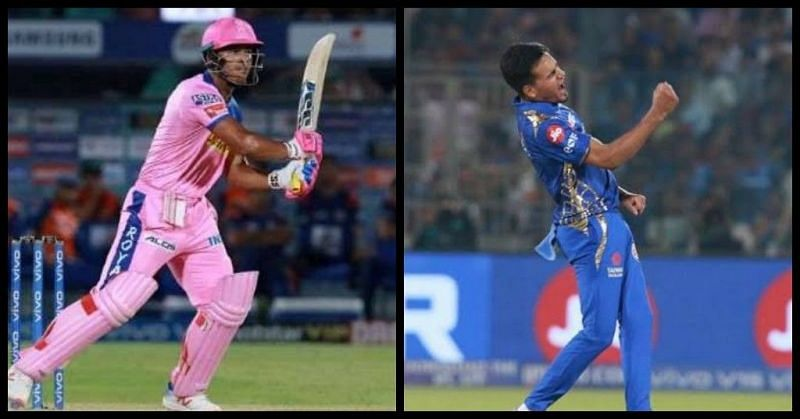 Riyan Parag and Rahul Chahar were the stars for their respective franchises in IPL 2019 (Image courtesy - IPLT20/BCCI)