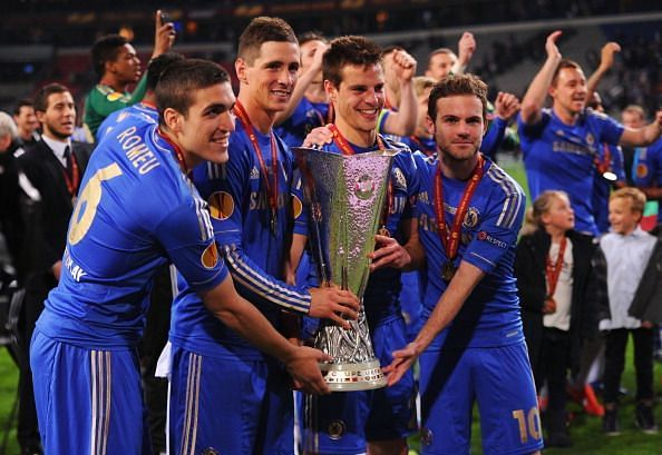 Chelsea won the 2013 Europa League by defeating Benfica 2-1 in the final