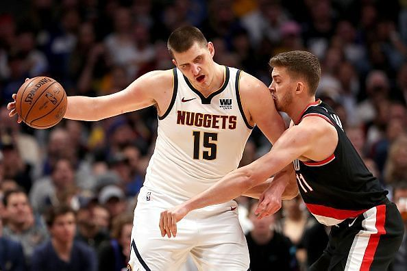 Nikola Jokic continues to dismantle opposing defenses with his all-around game