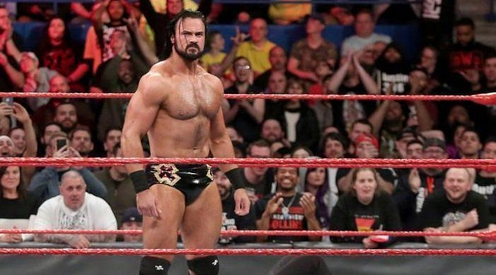 Drew Mcintyre was tipped to be the next big thing but as of of now he
