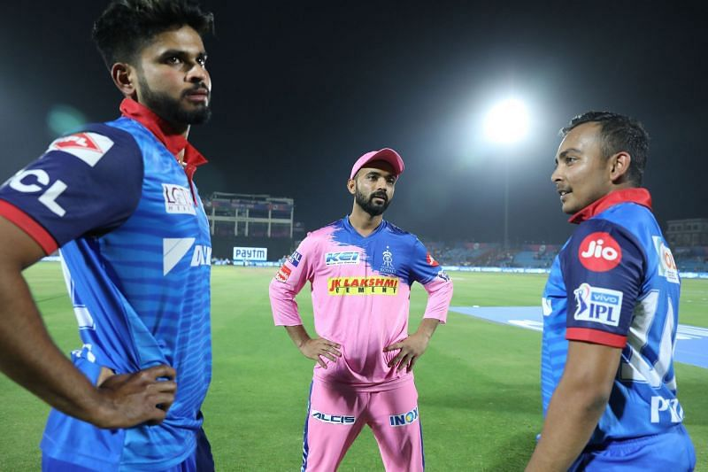 Delhi Capitals Vs Rajasthan Royals