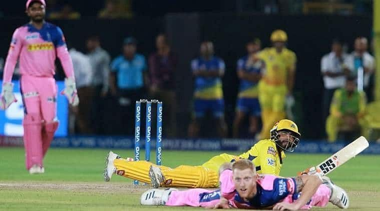 Jadeja and Stokes admiring the former