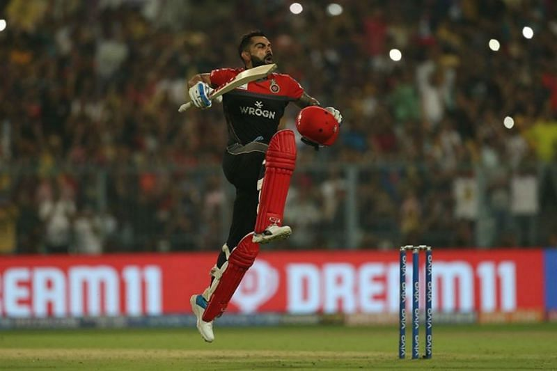 Virat scored 5371 runs in IPL which is the most by any batsman