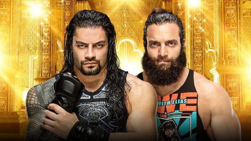 Roman Reigns Vs. Elias