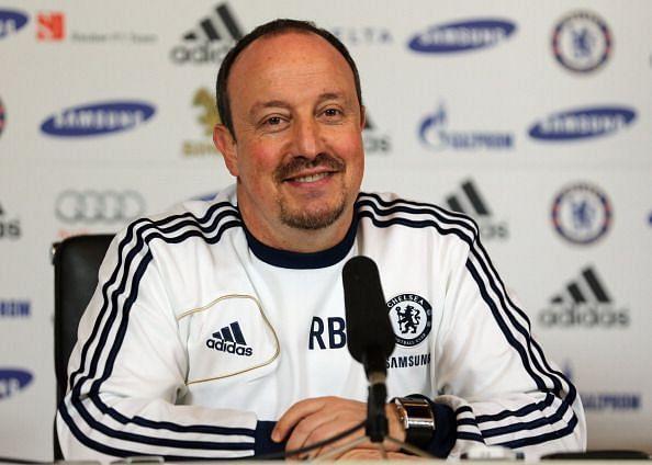 Benitez masterminded the Amsterdam triumph