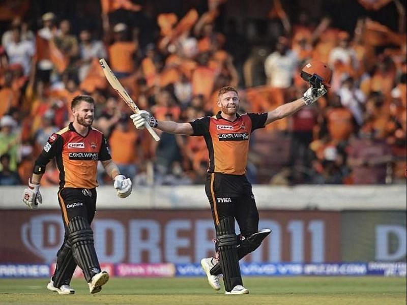 Alongside Jonny Bairstow who partnered David Warner to open the batting for SRH