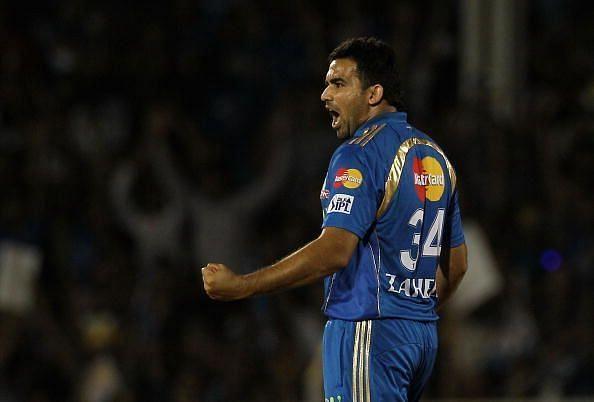 Zaheer Khan played 10 IPL seasons (Image courtesy - IPLT20/BCCI)