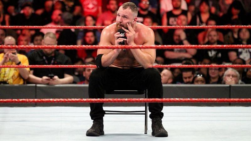 Dean Ambrose described his injury period as