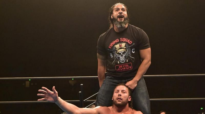 Tama Tonga after dismantling The Elite in San Francisco