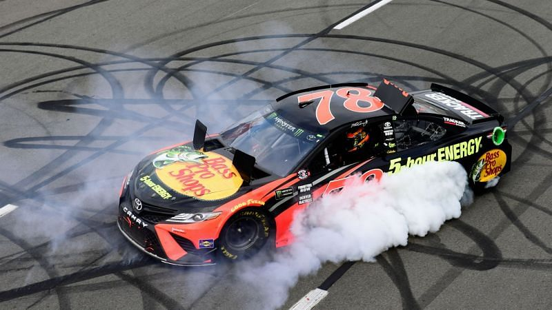 Martin Truex Jr Toyota Monster Energy NASCAR Cup Series Pocono 400 03062018