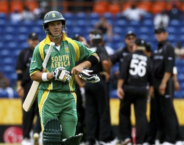 Super Eight - New Zealand v South Africa - Cricket World Cup 2007