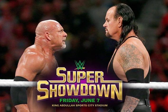 Goldberg vs undertaker