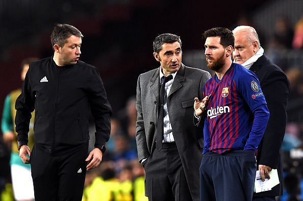 Valvarde is set to continue as Barca manager, according to reports