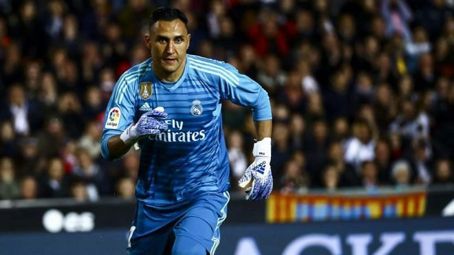 Keylor Navas has been put up for sale by Real Madrid