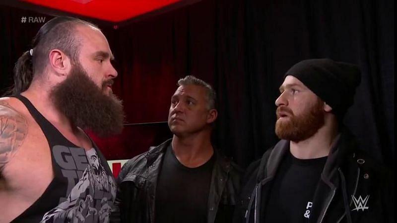 Braun Strowman is no longer in the MITB ladder match