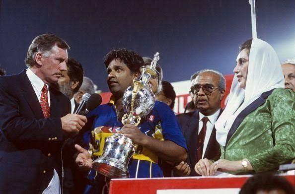 Sri Lanka Win the 1996 ICC Cricket World Cup Final v Australia
