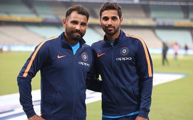 Bhuvneshwar Kumar And Mohammad Shami