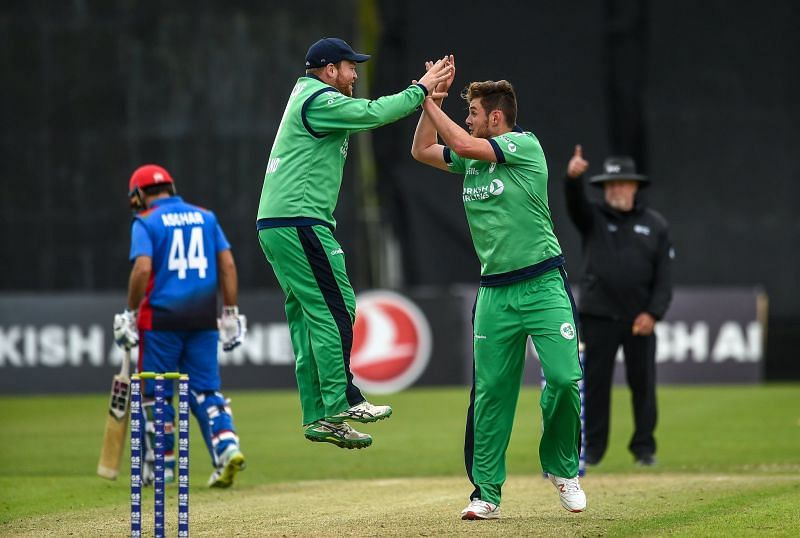 Ireland won the match by 72 runs