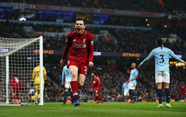 Andy Robertson is arguably the best left-back in the Premier League
