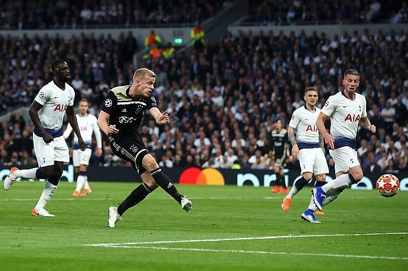Tottenham Hotspur v Ajax - UEFA Champions League Semi Final: First Leg