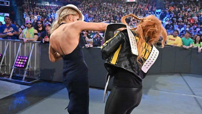 Lacey Evans could attack Becky Lynch on the upcoming episode of Raw.