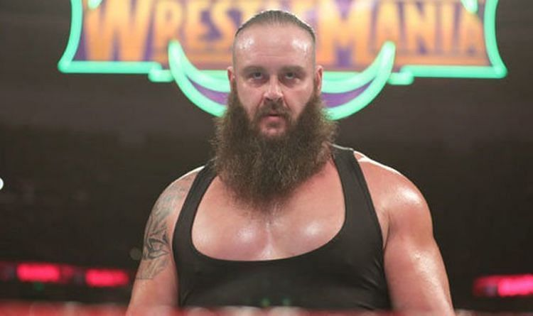 Strowman is slowly falling off the rails.