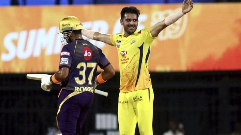 deepak chahar has taken 16 wickets from 13 games