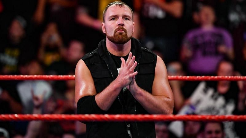 dean ambrose makes his first appearance after leaving wwe