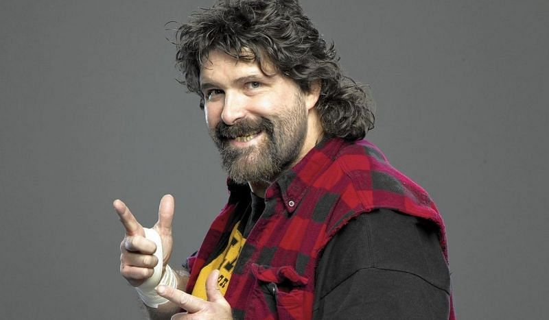 Mick Foley may be a bestselling author, but was once forced to live in his car to save money.