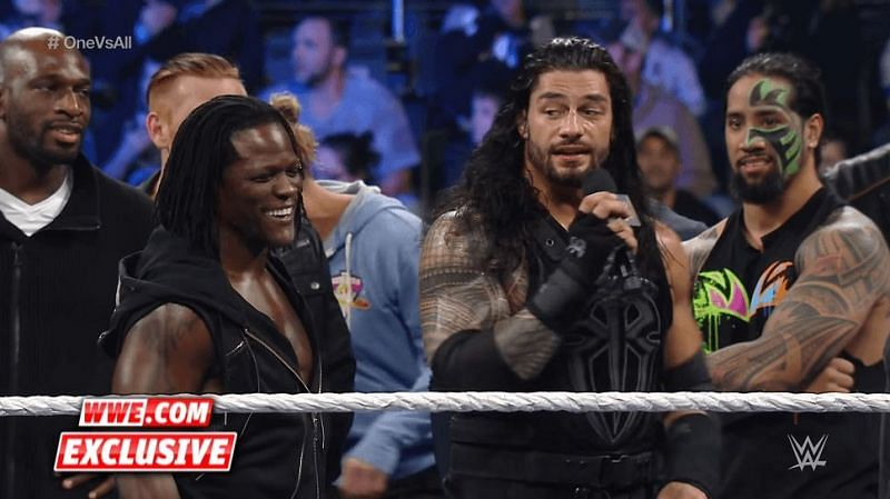 Roman Reigns and R-Truth