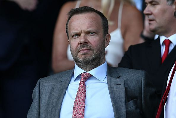 Manchester United CEO Ed Woodward is expecting a busy summer transfer window