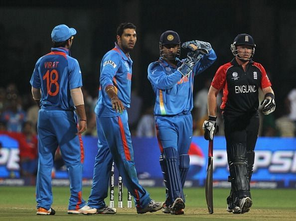 Image result for india vs england 2011 world cup