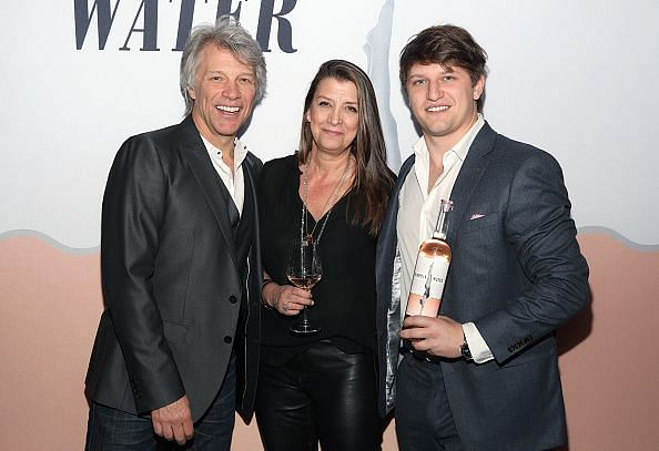 Jesse Bongiovi (pictured right) at the Hampton Water Rosé L.A. Launch At Harriet