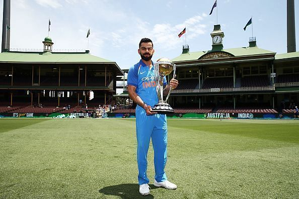 Australia v India ODI Series Captains Trophy