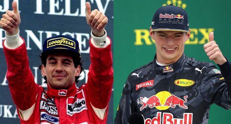 Senna vs Verstappen: a comparison that