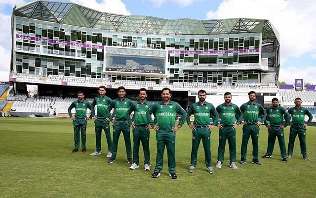 Pakistan official jersey for 2019 World Cup. (Photo Source: Twitter)