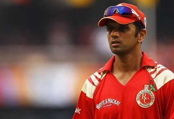 Rahul Dravid played the first 3 editions of IPL for his home side, RCB. (Image courtesy - IPLT20/BCCI)