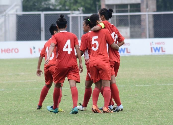 Manipur Police overjoyed after a goal